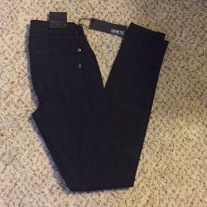Genetic Denim Shya Skinny Jean - black 24